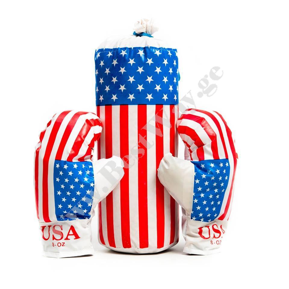 Боксерский набор Американский флаг