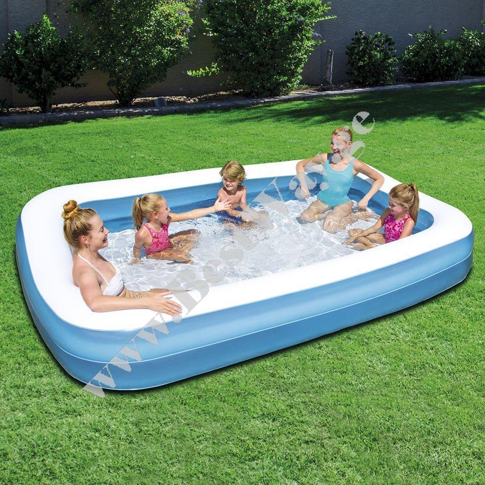 გასაბერი აუზი BestWay 54150 Blue Rectangular Family Pool