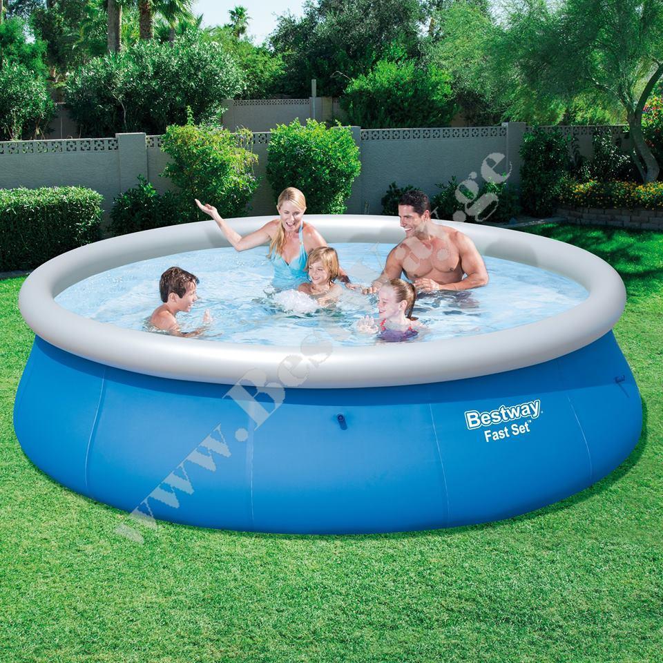 bestway 57266 fast set pool gasaberi auzebi. Black Bedroom Furniture Sets. Home Design Ideas