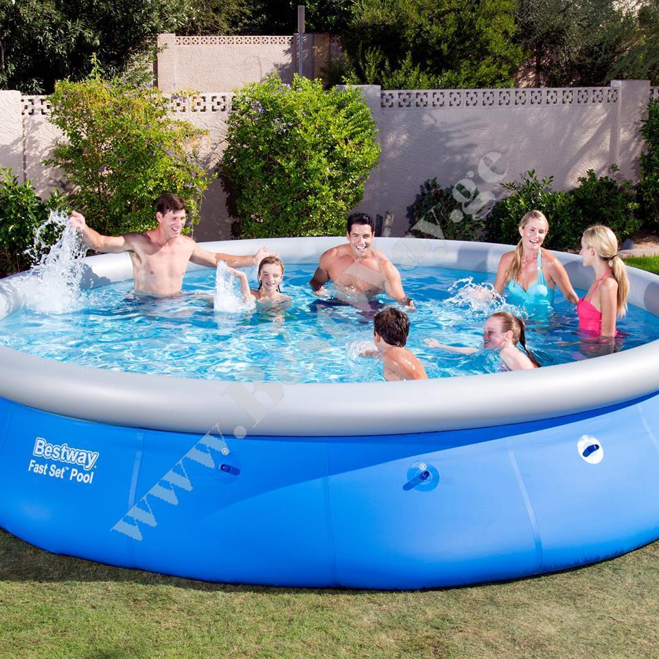 bestway 57273 fast set pool gasaberi auzebi. Black Bedroom Furniture Sets. Home Design Ideas