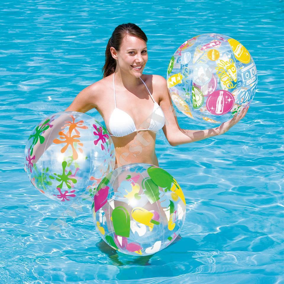 გასაბერი ბურთი BestWay 31001 Designer Beach Ball