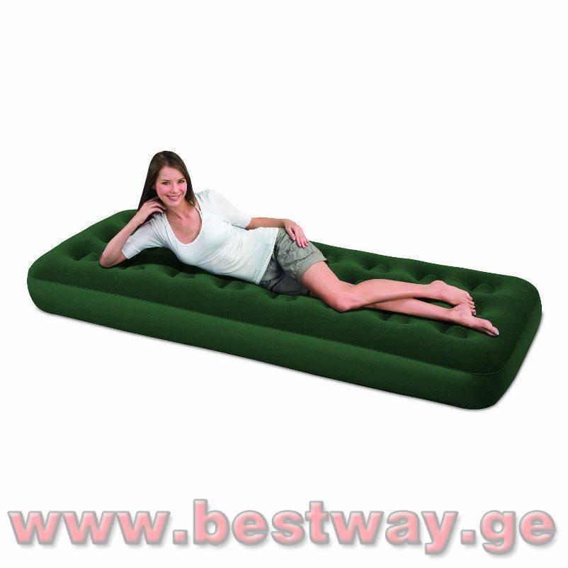 გასაბერი ლეიბი BestWay 67447  Flocked Air Bed(Twin)