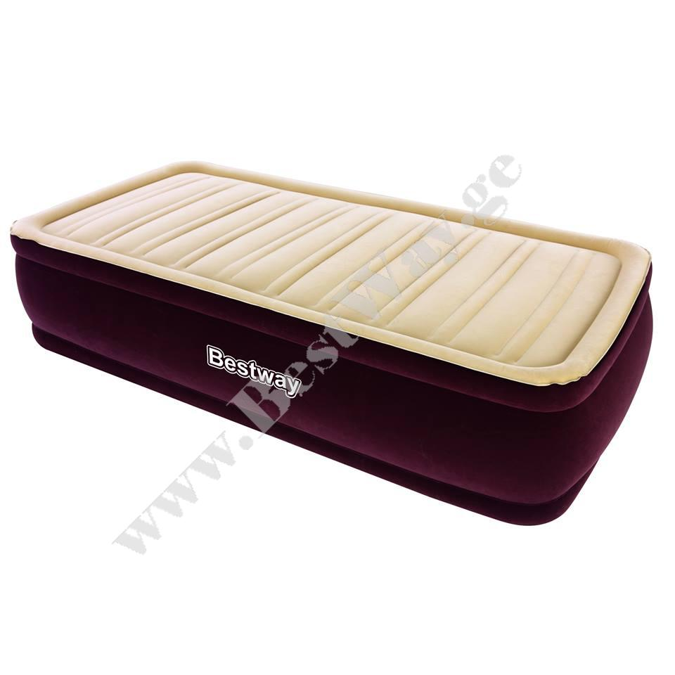 გასაბერი ლოგინი BestWay 67492 Comfort Cell New Comfort Raised Airbed(Single)