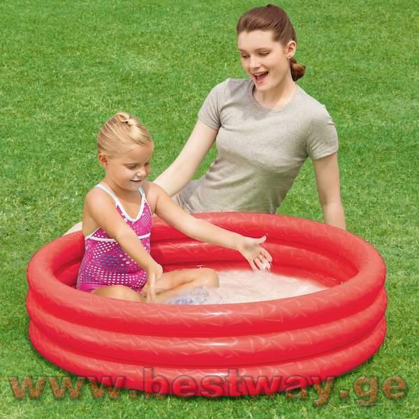 საბავშვო გასაბერი აუზი BestWay 51024  Play Pool