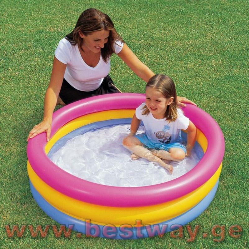 საბავშვო გასაბერი აუზი BestWay 51104  Summer Set Pool
