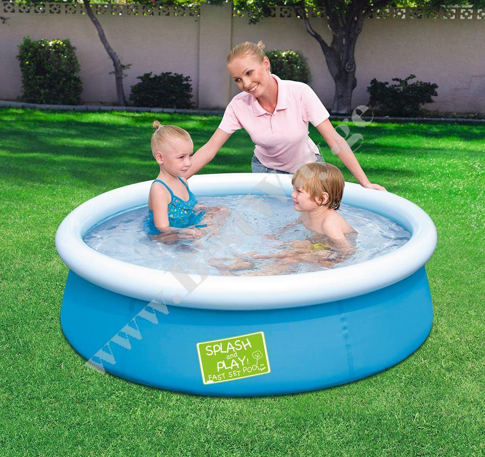 საბავშვო  გასაბერი აუზი BestWay 57241  My First Fast Set Pool