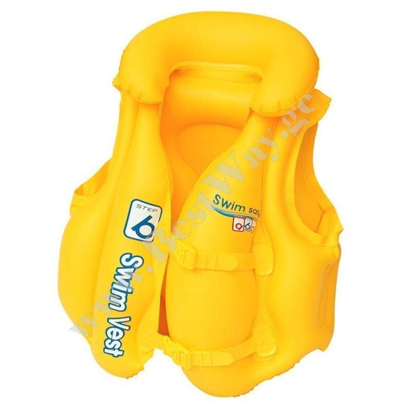 Нарукавники для плавания Swim Safe, ступень С,  Bestway